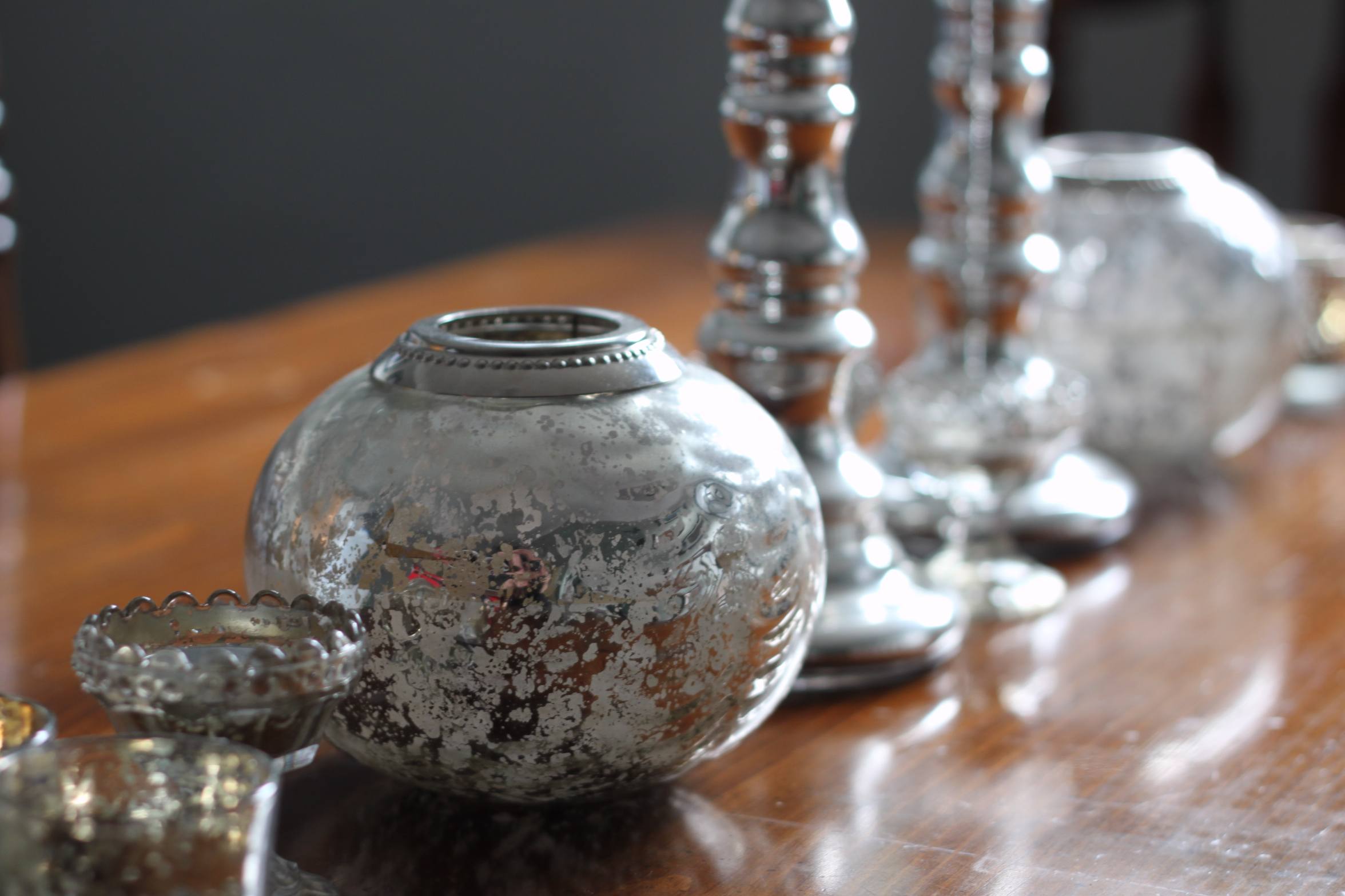 The Understated Beauty of Mercury Glass