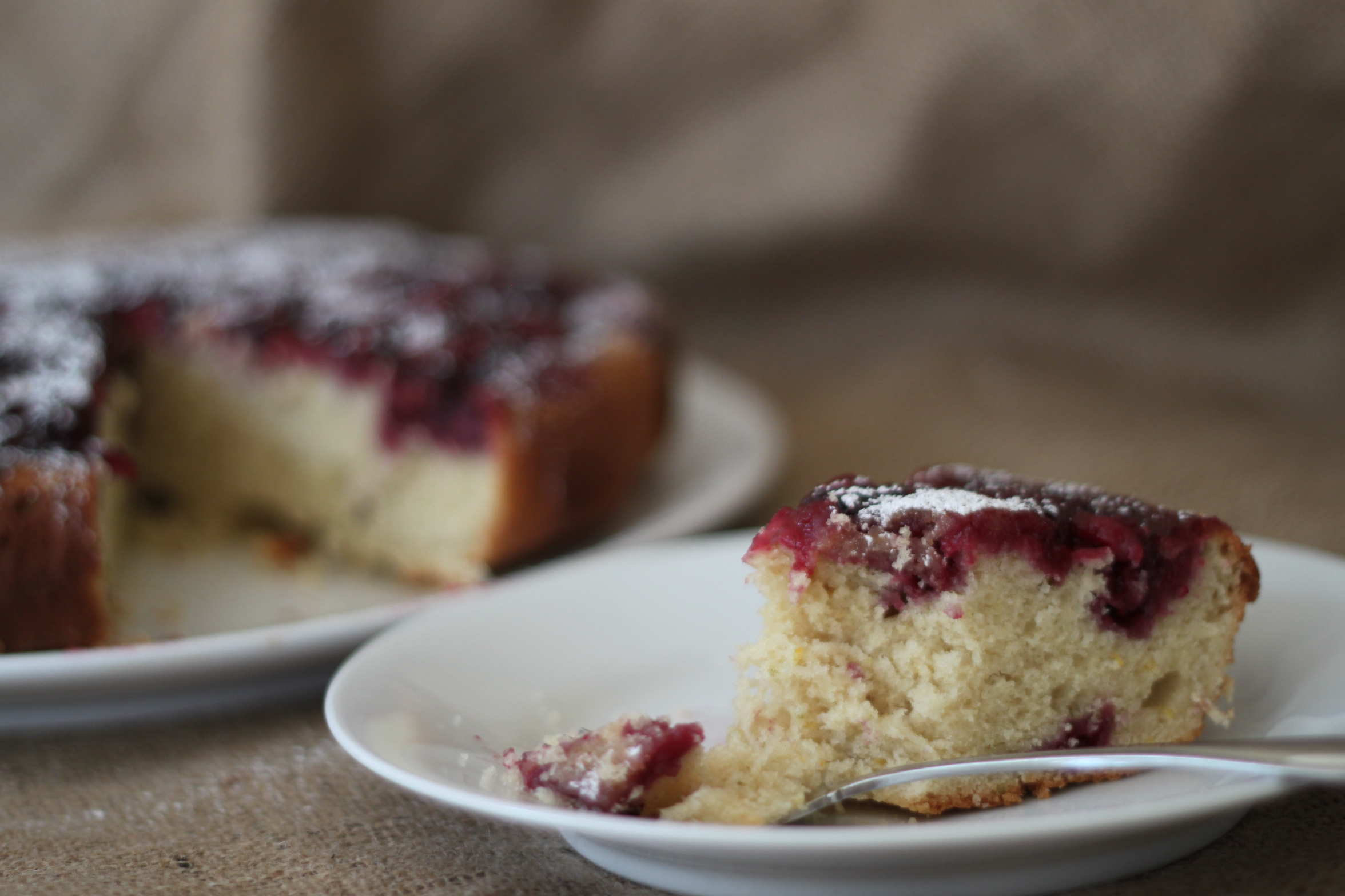blackberry buttermilk cake