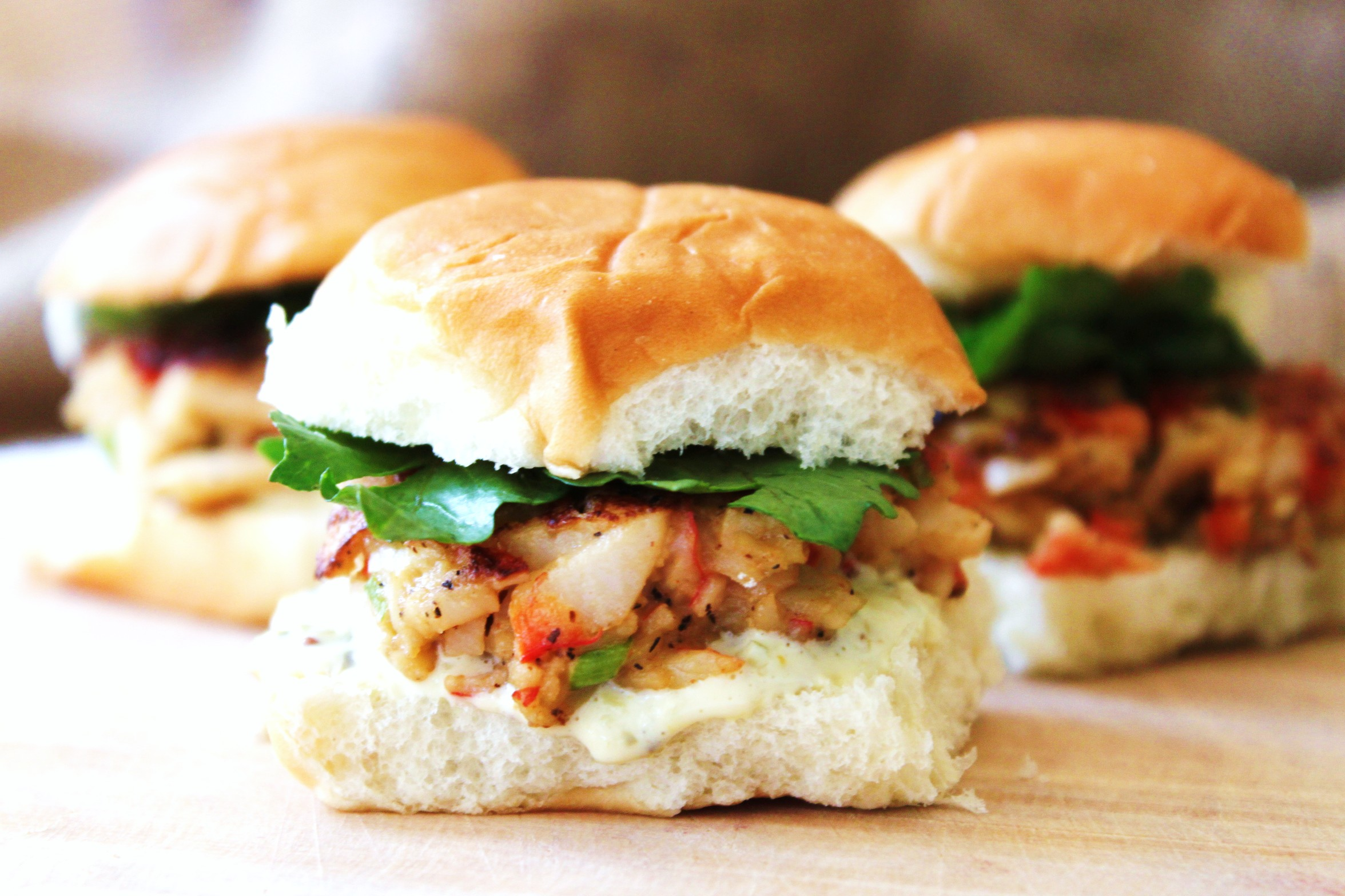 Crab Cake Sliders | jessica burns