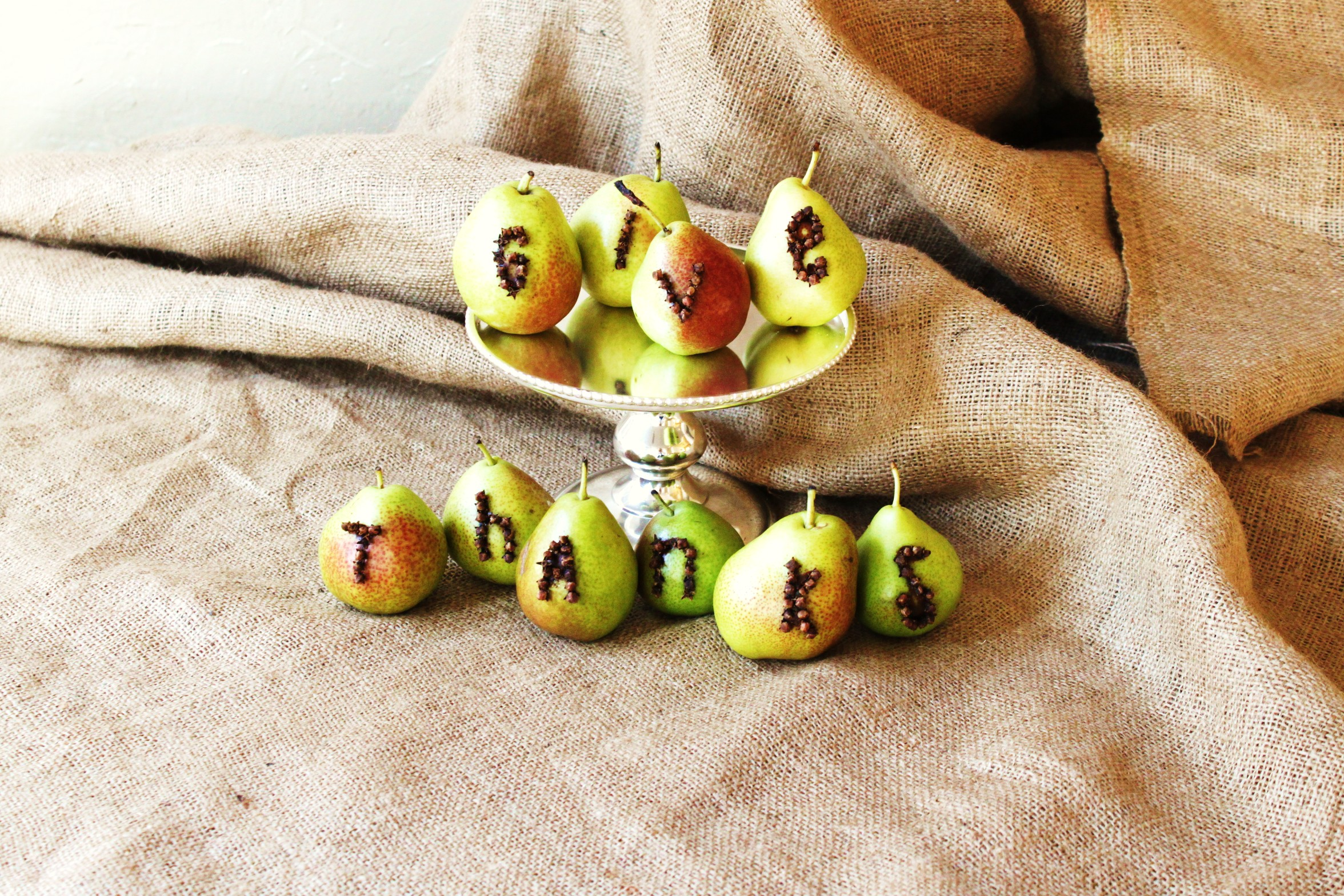 Thanksgiving Pear Decorations