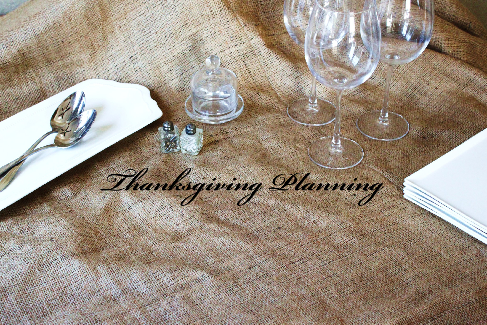 thanksgiving planning