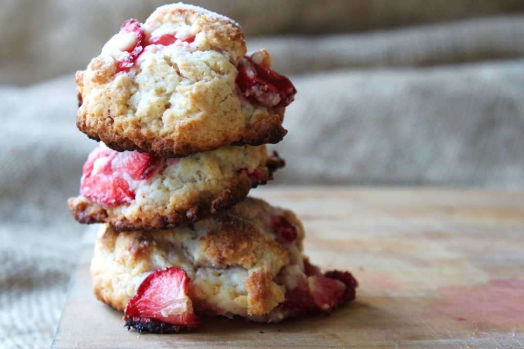 strawberry-shortcake cookies