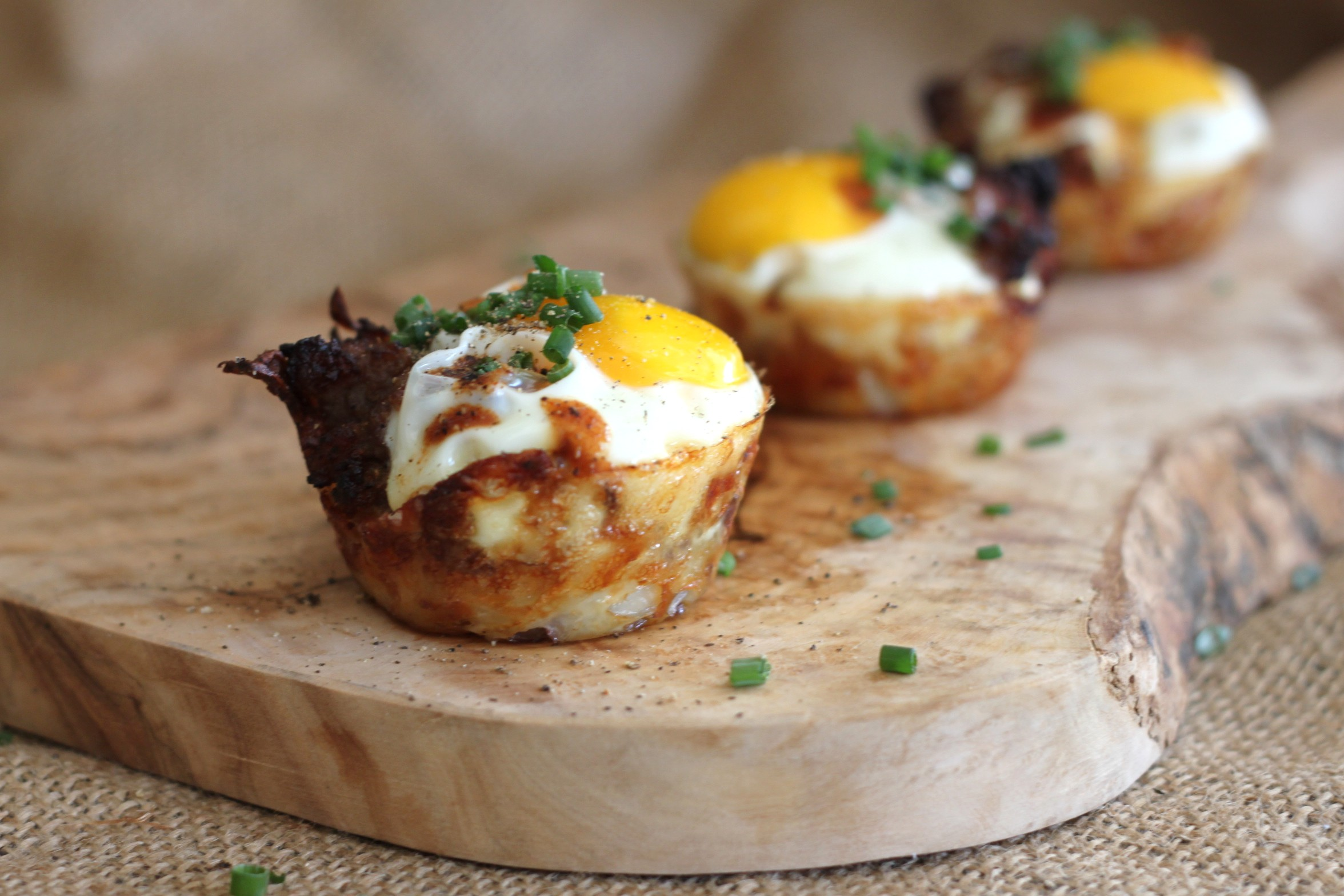 Mini Sausage & Egg Breakfast Cups