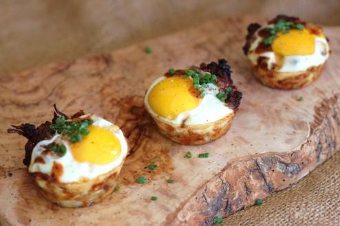mini sausage & breakfast breakfast cups