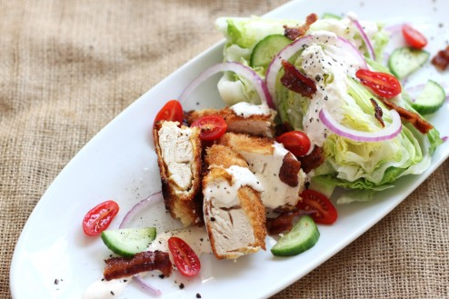 Chicken BTL Wedge Salad