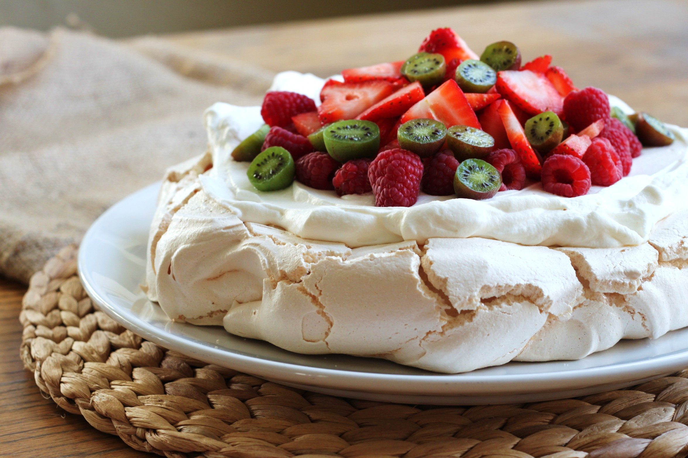 Kiwiberry Pavlova | jessica burns