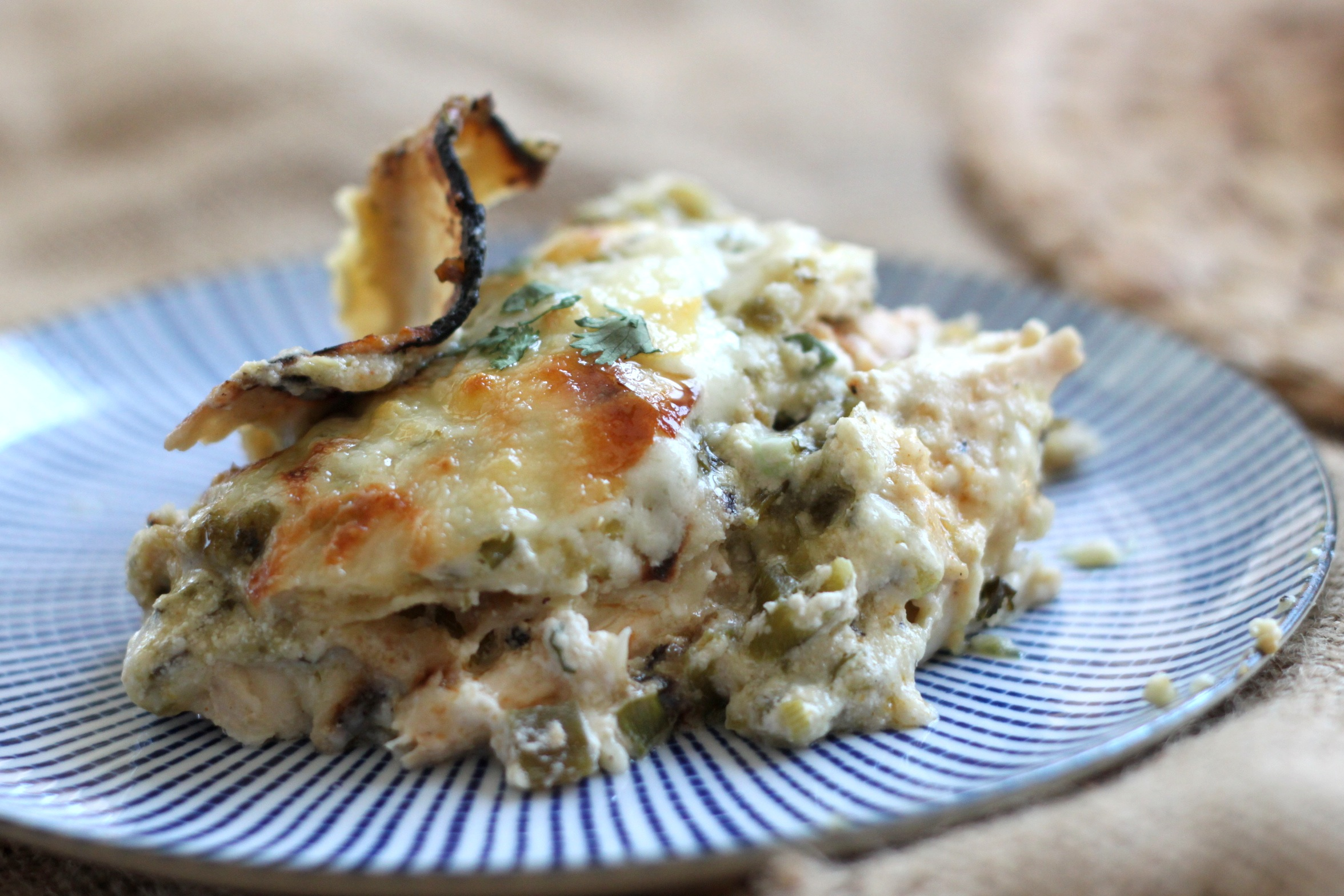 Chicken Verde Bake