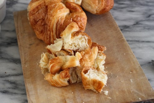 Croissant French Toast Bake
