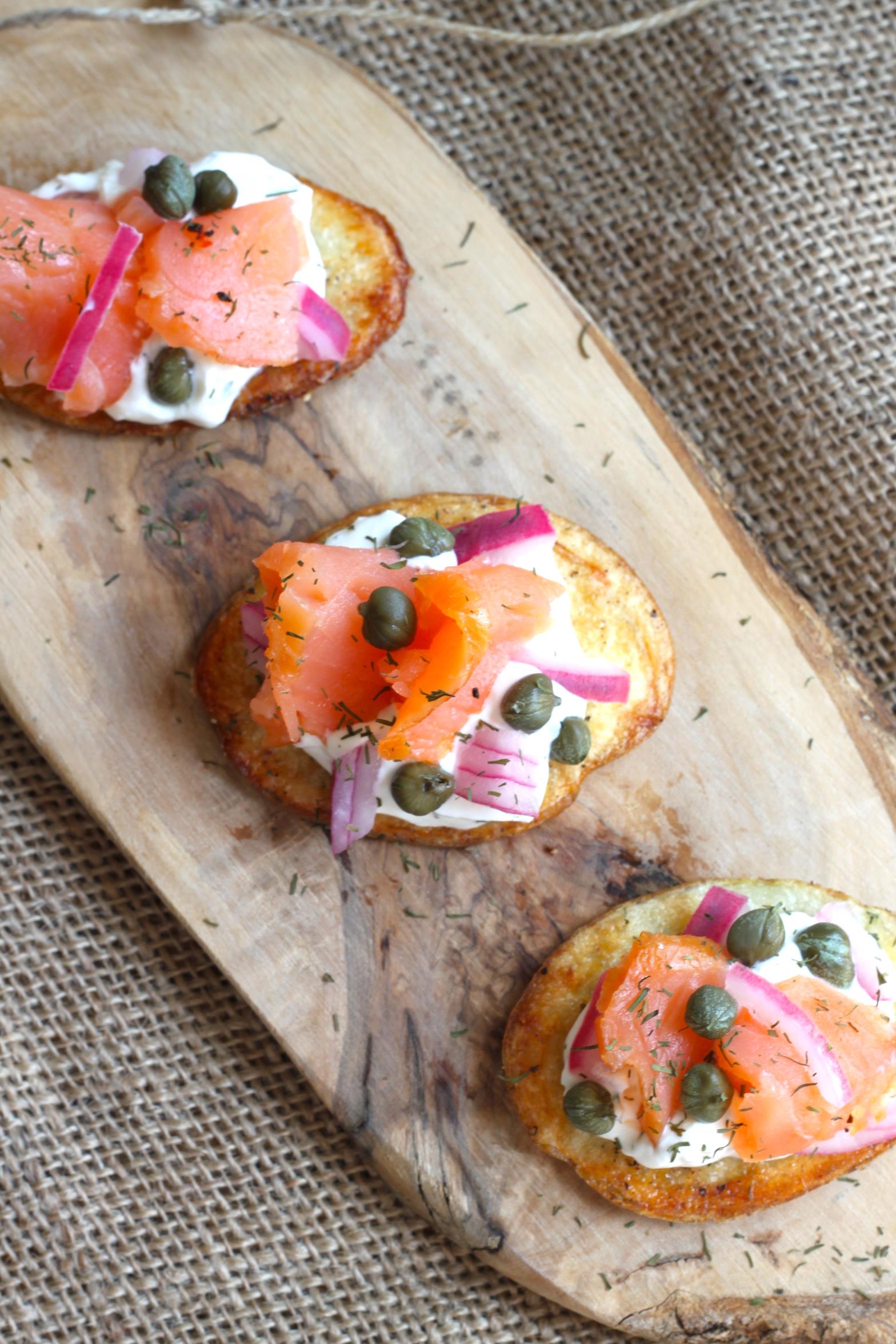 Smoked Salmon & Potato Bites