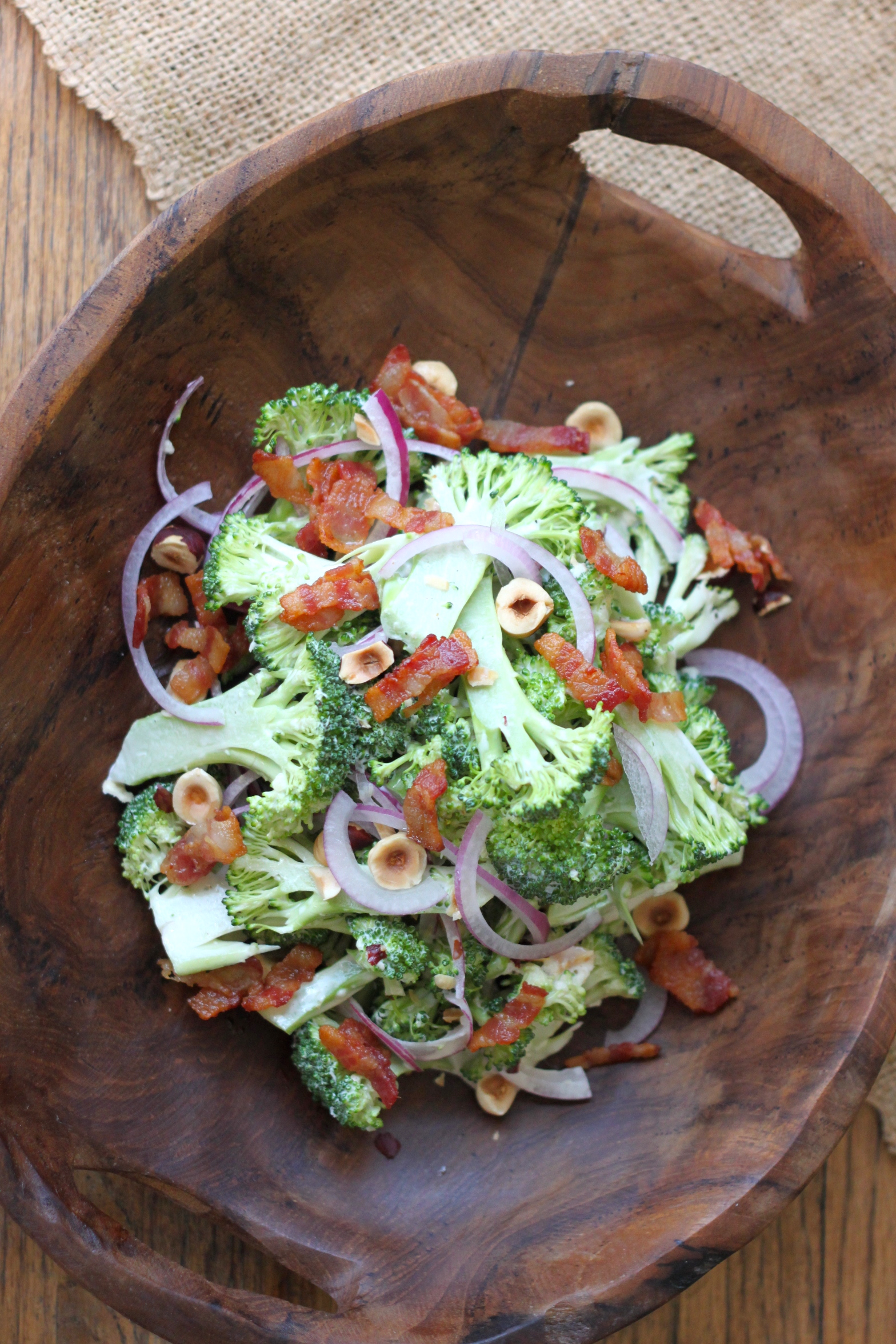 Broccoli & Bacon Slaw