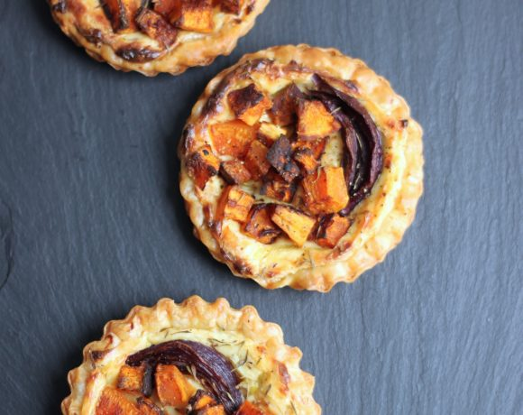 Roasted Pumpkin Tartlets