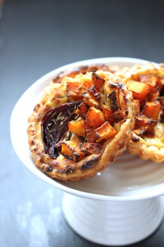 Roasted Pumpkin Tartlets