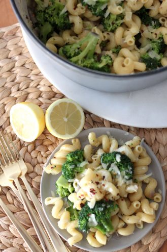 Broccoli, Brown Butter and Lemon Pasta Salad